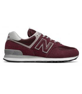 Zapatillas New Balance ML574 Hombre Burdeos. Oferta y Comprar online