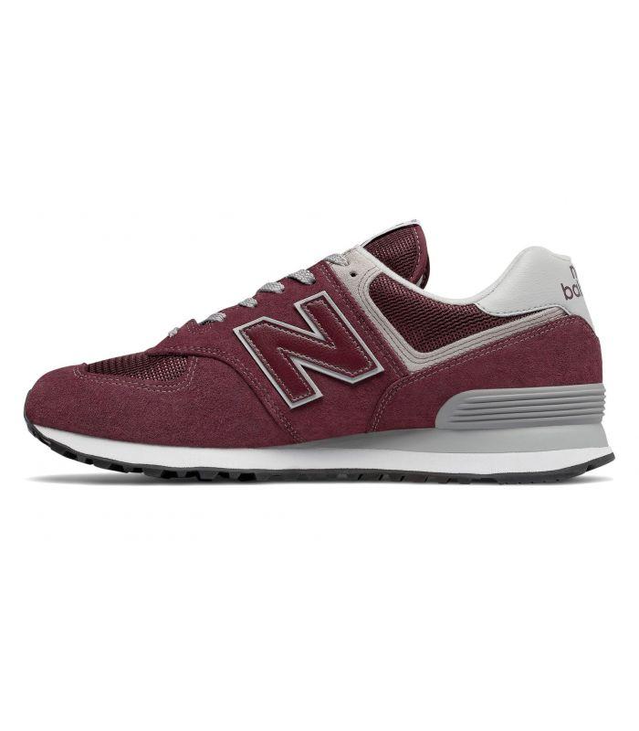Compra online Zapatillas New Balance ML574 Hombre Burdeos en oferta al mejor precio
