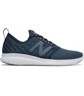 Zapatillas New Balance FuelCore Coast V4 Mujer Azul. Oferta y Comprar online