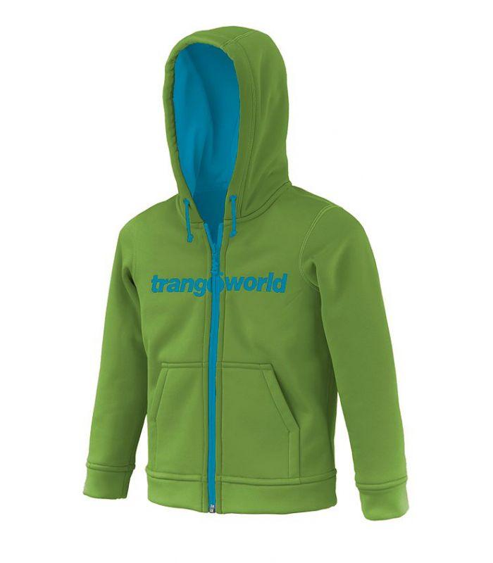 Compra online Sudadera Trangoworld Oby Niños Verde Azul en oferta al mejor precio
