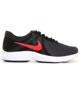 Zapatillas Nike Revolution 4 Eu Hombre Negro Rojo. Oferta y Comprar online