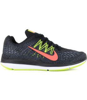 Zapatillas Nike Zoom Windflo 5 Hombre Negro. Oferta y Comprar online