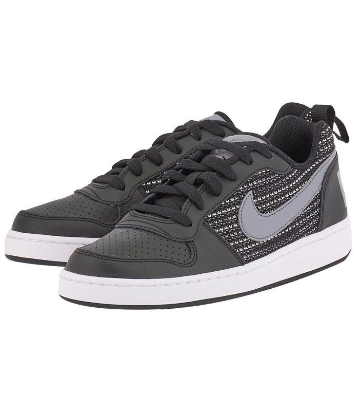 Compra online Zapatillas Nike Court Borough Low Se Gs Negro Gris en oferta al mejor precio