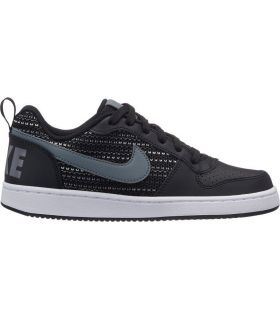 Zapatillas Nike Court Borough Low Se Gs Negro Gris. Oferta y Comprar online