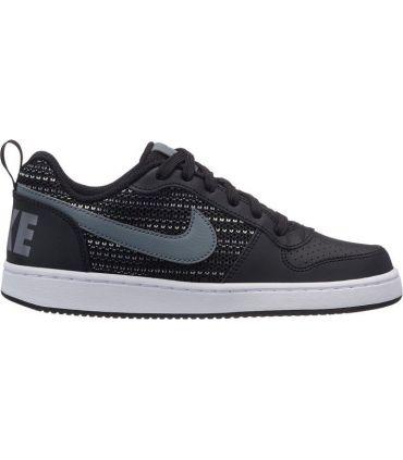 Zapatillas Nike Court Borough Low Se Gs Negro Gris