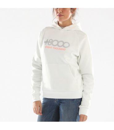 Sudadera +8000 Toroni 038 Mujer Blanco