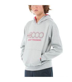 Sudadera +8000 Almaden J 151 Niños Gris. Oferta y Comprar online