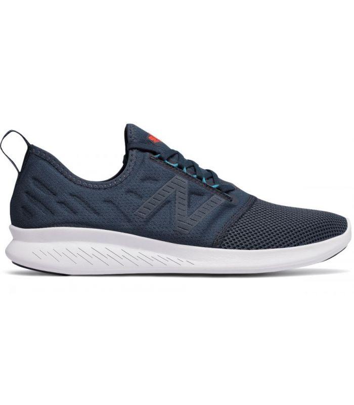 Compra online Zapatillas New Balance Fuel Core Coast Hombre Azul en oferta al mejor precio