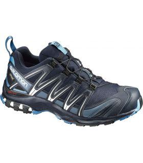 Zapatillas trail running Salomon Xa Pro 3D GTX Hombre Navy. Oferta y Comprar online