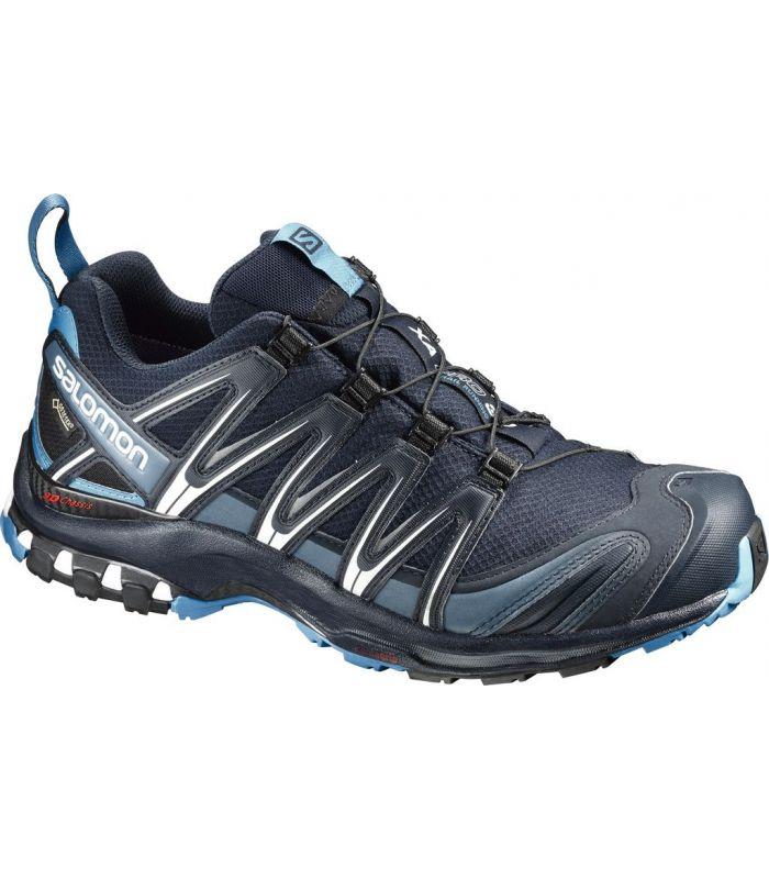 Compra online Zapatillas trail running Salomon Xa Pro 3D GTX Hombre Navy en oferta al mejor precio