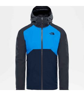 Chaqueta The North Face Stratos Hombre Gris Azul
