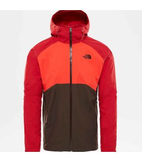 Chaqueta The North Face Stratos Hombre Rojo