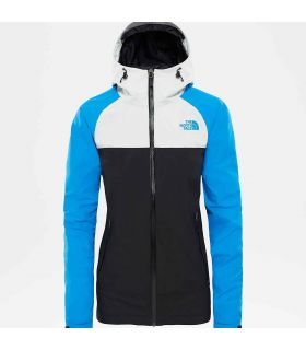 Chaqueta The North Face Stratos Mujer Negro Azul
