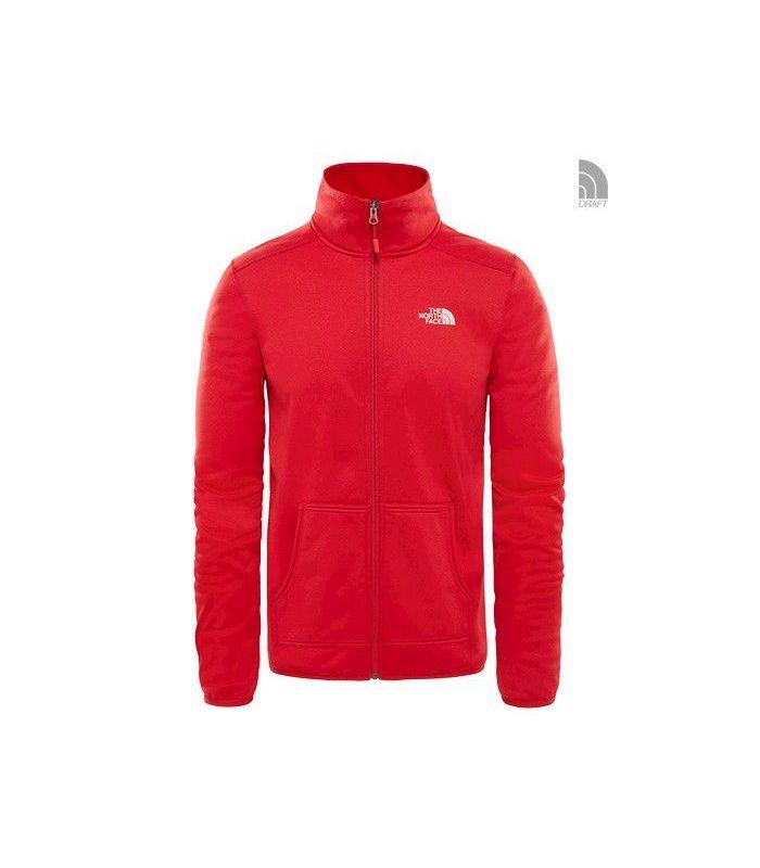 Compra online Chaqueta The North Face Tanken FZ Hombre Rojo en oferta al mejor precio