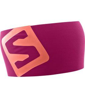 Banda para la cabeza Salomon RS Pro Rosa. Oferta y Comprar online
