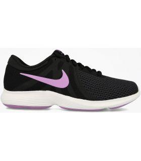 Zapatillas Nike Revolution 4 Eu Mujer Negro Fucsia