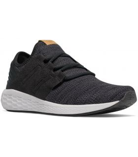 Zapatillas New Balance Fresh Foam Cruz On Hombre Burdeos Negro. Oferta y Comprar online