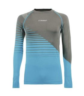 Camiseta La Sportiva Artic Long Sleeve Hombre Carbon