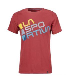 Camiseta La Sportiva Square Hombre Rojo