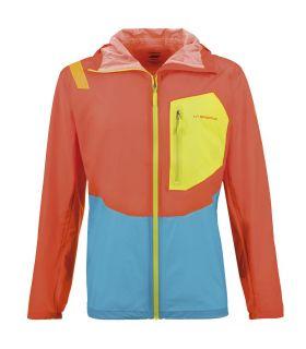 Chaqueta trail running La Sportiva Hail Hombre Pumpkin. Oferta y Comprar online