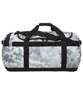 Bolso The North Face Base Camp Duffel L Gris Camuflaje. Oferta y Comprar online