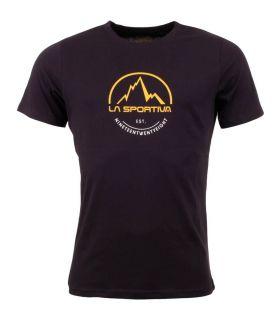 Camiseta La Sportiva Logo Tee Hombre Negro. Oferta y Comprar online