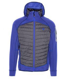 Chaqueta Ternua Kruz Hybrid JKT Hombre Azul. Oferta y Comprar online