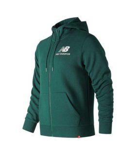 Chaqueta New Balance Essentials Brushed Scuba Jacket Hombre Jade Profundo. Oferta y Comprar online