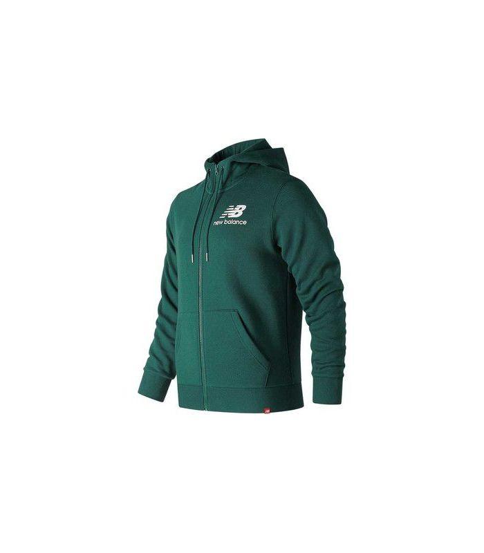 Compra online Chaqueta New Balance Essentials Brushed Scuba Jacket Hombre Jade Profundo en oferta al mejor precio