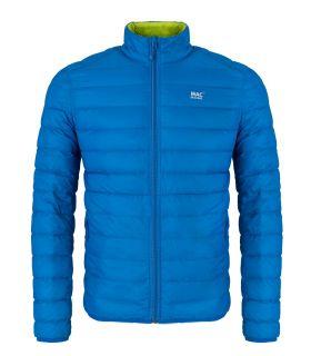 Chaqueta Mac in a Sac Polar Hombre Azul Lima. Oferta y Comprar online