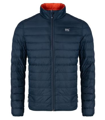 Chaqueta Mac in a Sac Polar Hombre Flame Navy
