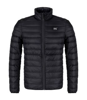 Chaqueta Mac in a Sac Polar Hombre Negro Charcoal