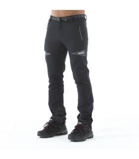 Pantalones Trekking +8000 Nordmore Hombre Negro Naranja. Oferta y Comprar online