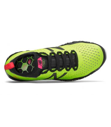 Zapatillas New Balance Fresh Foam Hierro V3 Hombre Amarillo