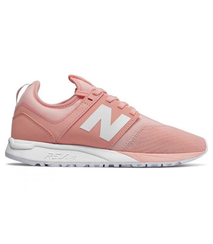 Compra online Zapatillas New Balance WRL247 Mujer Rosa en oferta al mejor precio