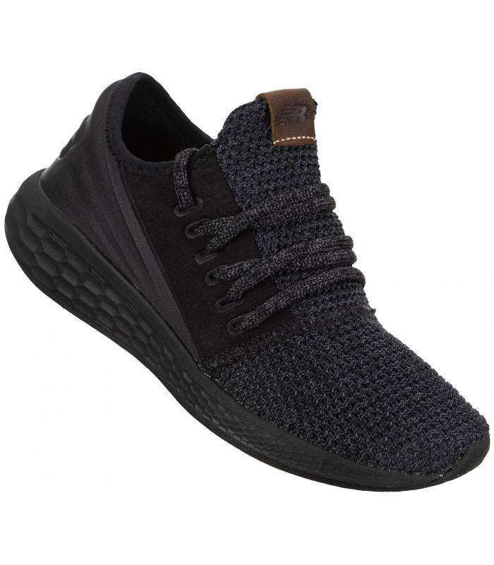 Compra online Zapatillas New Balance Fresh Foam Cruz Decon Mujer Negro en oferta al mejor precio