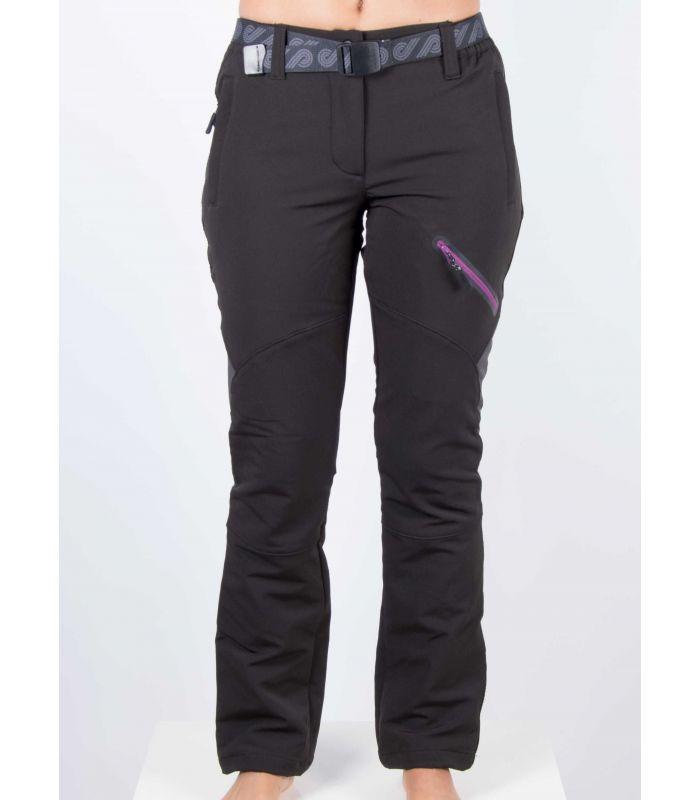 Compra online Pantalones Breezy Coromell Mujer Negro Phlox en oferta al mejor precio