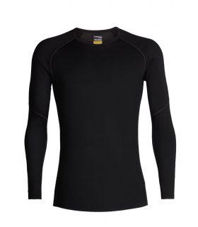 Camiseta IceBreaker 150 LS Crew Hombre Negro. Oferta y Comprar online