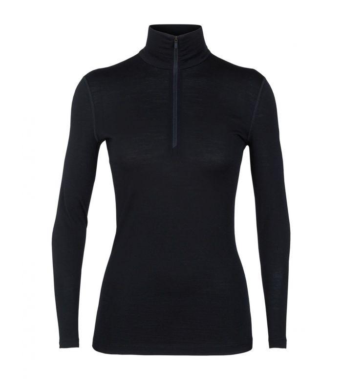 3911ace569d Camiseta New Balance Heather Tech LS Mujer Negro. Oferta