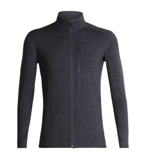 Chaqueta IceBreaker Descender Long Sleeve Zip Hombre