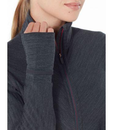 Chaqueta IceBreaker Descender Long Sleeve Zip Mujer