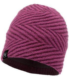Gorro Buff de Punto y Polar Silja Púrpura. Oferta y Comprar online