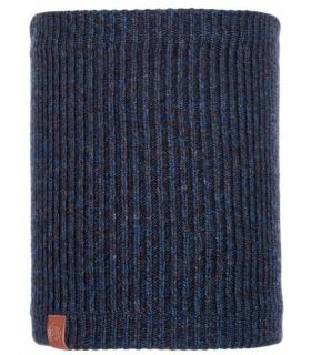 Calentador de Cuello Buff de Punto y Polar Lyne Azul Noche. Oferta y Comprar online