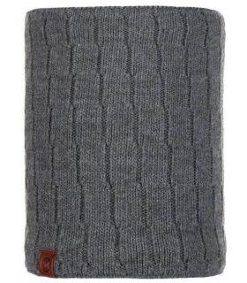 Calentador de Cuello Buff de Punto y Polar Jeroen Gris. Oferta y Comprar online