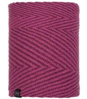 Calentador de cuello Buff de Punto y Polar Silja Púrpura. Oferta y Comprar online