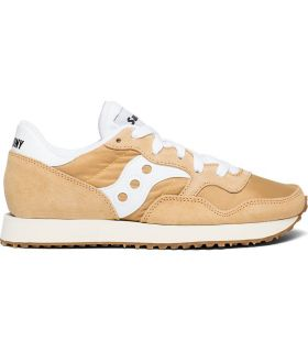 Zapatillas Saucony DXN Trainer Vintage Mujer Tan White