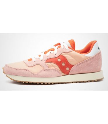 Zapatillas Saucony DXN Trainer Vintage Mujer Rosa Berry