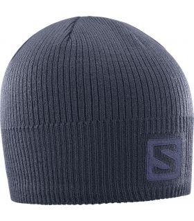 Gorro de lana Salomon Logo Beanie Graphite. Oferta y Comprar online