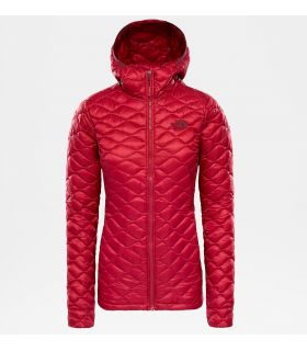 Chaqueta The North Face Thermoball Hoodie Mujer Rumba Red. Oferta y Comprar online