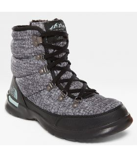 Botas The North Face Thermoball Lace II Mujer Gris Negro. Oferta y Comprar online